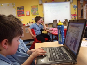 Primary 4 hard at work