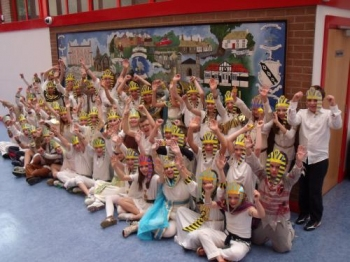 We loved being Egyptians!