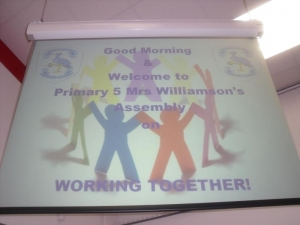 Assembly Welcome - 'Working Together' P5W